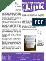 August 2015 LINK Newsletter
