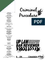 UP 2009 Remedial Law -Criminal Procedure