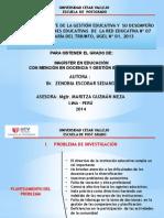 GESTIÓN EDUCATIVA Y  EL DESEMPEÑO DOCENTE DE  LAS.pptx