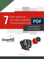 DreamPBX eBook - 7 Tendencias en Las Comunicaciones