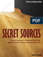 Secret Sources of Natural Medicine