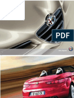 Catalogo Technical Insert Alfa Spider Model Year 07-08-2008