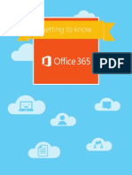 Getting to Know Office 365