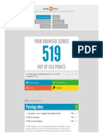 HTML5test - How Well Does Your Browser Support HTML5