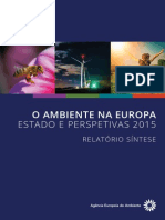 SOER2015 O Ambiente Na EU - Estado e Perspectivas 2015