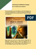 """Presentación del Ensayo :Desde El Corazón de las Mujeres"""""""