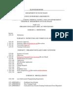20 IAC 1231 Proposed Amendments Register