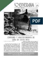 Consumo y Abastecimiento de Leña en Costa Rica