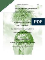 Plan Gestion Integral Residuos Csf 2015