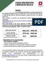 Ficha de Inscripción 2015-2