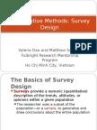 Quantitative Methods research