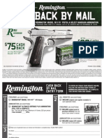 Remington 1911 R1 & Ammunition Rebate