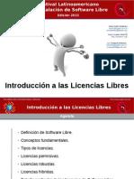 Introducción a Las Licencias Libres