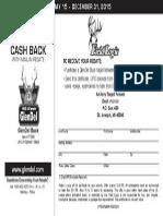 GlenDel Online Rebate 2015