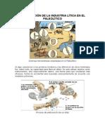 Industria Lítica en El Paleolítico Arqueologia Experimental