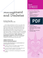 Food Management and Diabetes