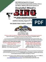 singtoendhomelessness flyer pdf