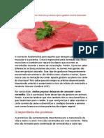 Melhores Alimentos Ricos Em Proteínas Para Ganhar Massa Muscular