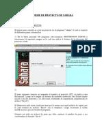 "Utilizacion del Software ""SAHARA"""