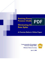 A Pension Reform White Paper