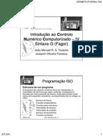 Progamacion ISO