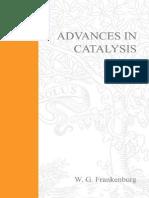 Advances in Catalysis Volume 1 - Walter G. Frankenburg (Academic Press, 1948)
