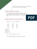 El Máximo Común Divisor Y Minimo comun multiplo