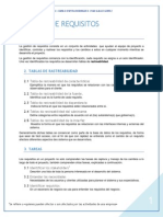 Gestion de Requisitos