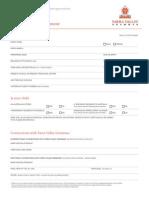 YVG Application Form