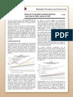 Coy 281 - La Tendencia de La Actividad Económica Boliviana Entre Fines de 2006 e Inicios de 2015