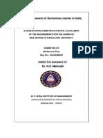 Current Scenario of Derivatives Market in India-Masood Khan-0487