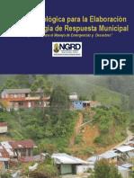 Guia Metodologica Para La Estrategia de Respuesta Municipal
