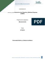 1. Fundamentos de La Macroeconomia