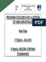 Mejora Continua Plata 2012