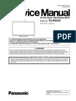 TCP42X5 PANASONIC SERVICE MANUAL
