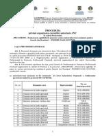 Procedura de Organizare a Cursurilor Autorizate ANC in Cadrul Proiectului PECAFROM
