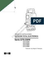 Manual Topcon 239w