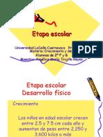 7 Etapa escolar