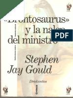 Stephen Jay Gould, Brontosaurus