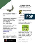 Bases Mislata 2015 Infantil