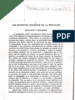 Pedagogia General Ricardo Nassif
