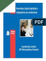 Normativa Laboral Aplicable a Trabajadores de Condominios