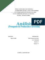 Análisis (Presupuesto de Producción e Inversión).pdf