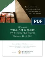 Tax Conf  Ad