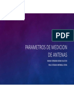 Parametros de Medicion de Antenas
