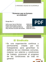 presentacion sindicatos