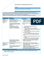 FCC - Planificación Unidad 1 - 2do Grado