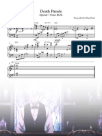 Death Parade Episode 7 Piano - Full Score