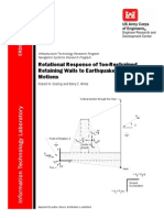 EDC-ITL TR-06-2, Rotational Response of Toe-Restrained Retaining Walls to Earthquake Ground Motion