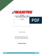 Operator Manual Manitou MTL 845 120 LSU_New_2008